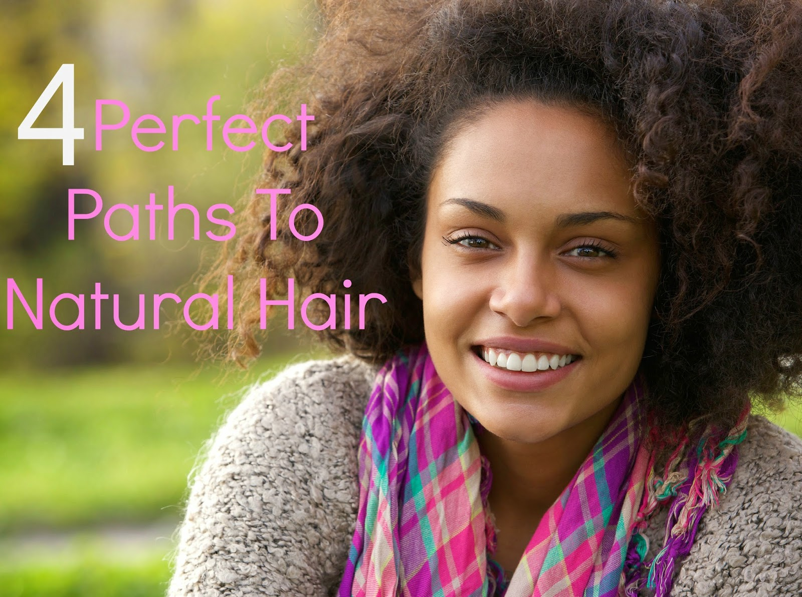 4 Perfect Paths To Natural Hair