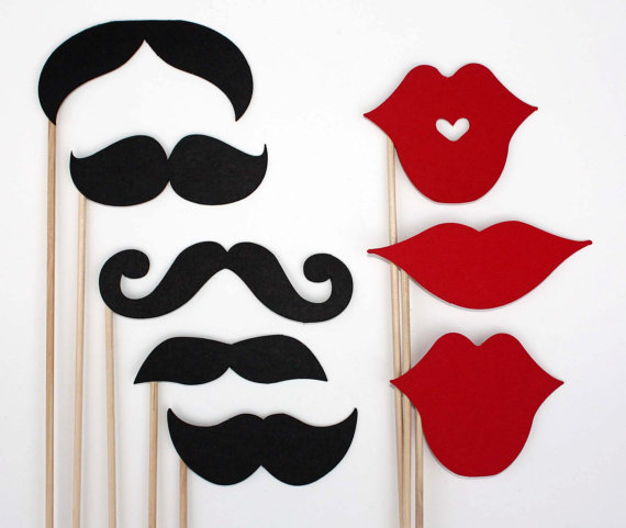 Lips Template For Photo Booth Christmas party photo booth