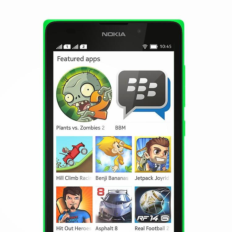 Nokia XL Çift Hatlı Android X Telefon
