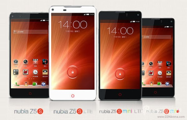 ZTE Nubia Z5S, new smartphone, SHARP IGZO, Gorilla Glass, 4k video, camera, Android Jelly Bean, snapdragon, Gionee Elife E7
