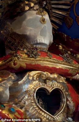 St Deodatus, St Valerius, St Valentinus, St Albertus, St Felix, Paul Koudounaris, Getreu