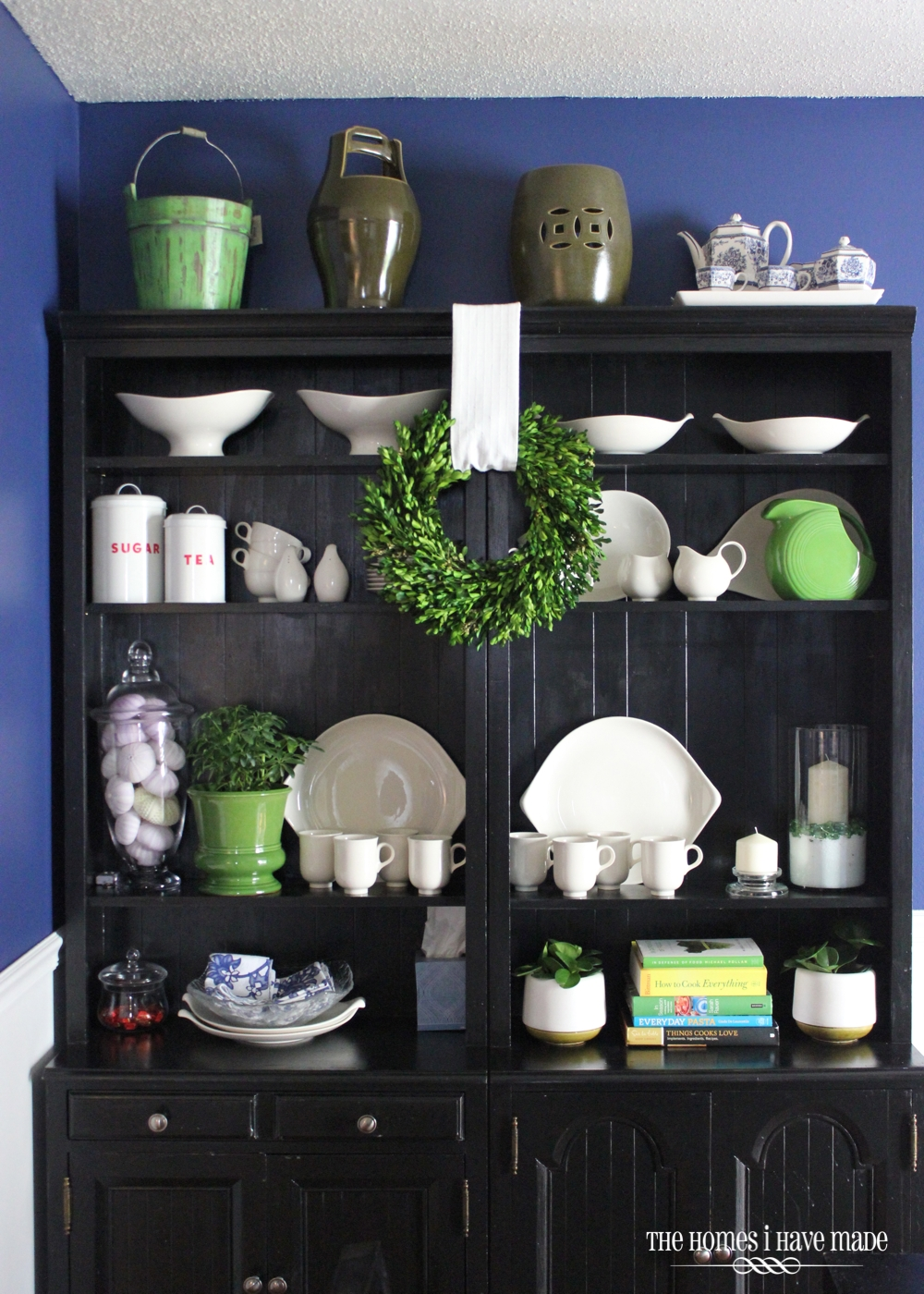 Dining Room Hutch Decorating Ideas By Styling Bookcases As A The Homes I Have