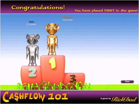 Chơi game cashflow 101