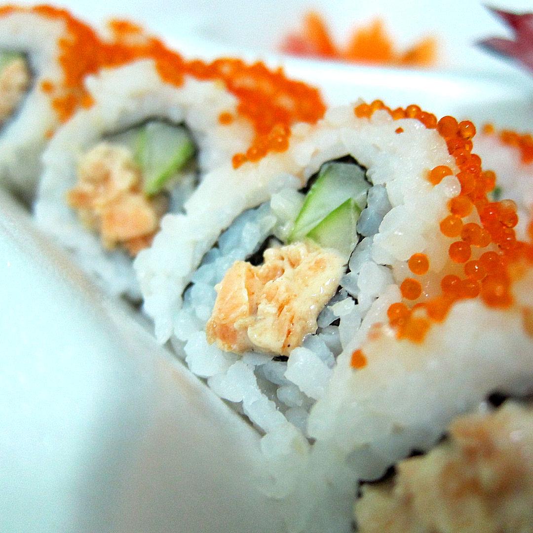 hello grenada, see you later america: Carib Sushi Review