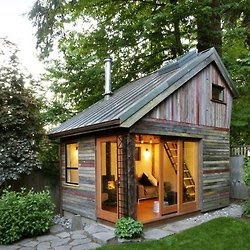 tiny cabin, Cottage in the woods, getaway from it all, tiny cabin, cute cabin, , secluded,