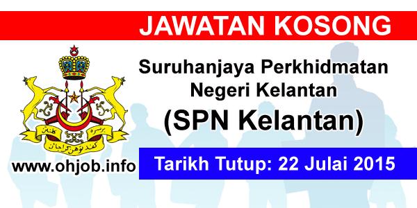 Jawatan Kerja Kosong Suruhanjaya Perkhidmatan Negeri Kelantan logo www.ohjob.info julai 2015
