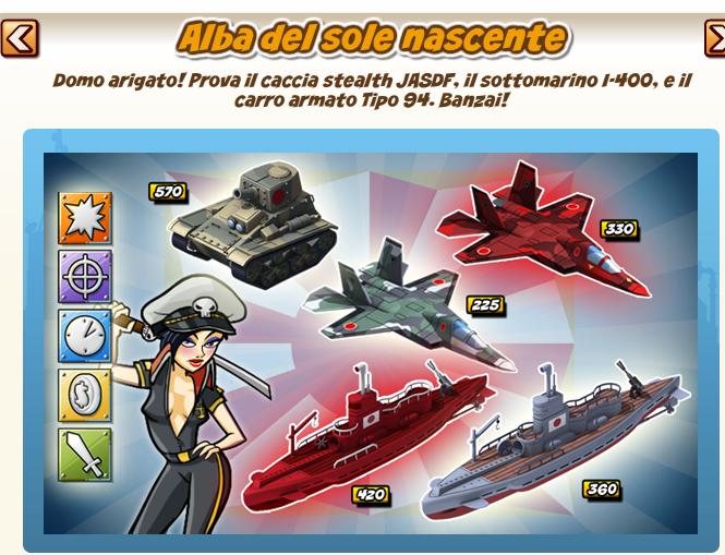 Empires allies new for Piani di missione