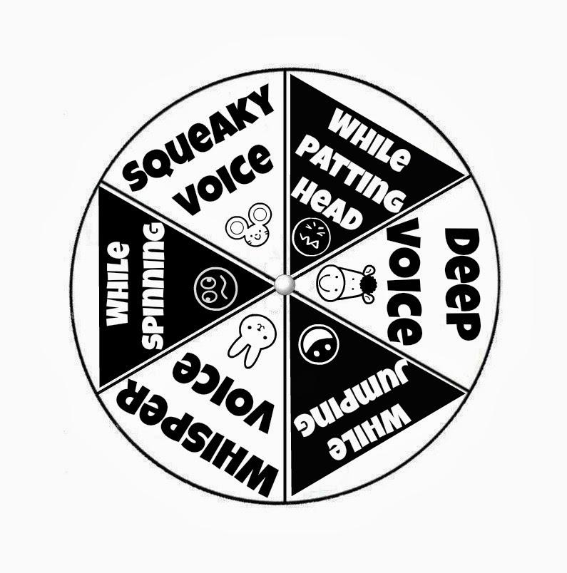 Jesus is the Good News: Memory Verse Games- Spinner