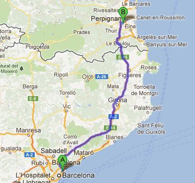 Kelita y dejarik viajeros d a 1 sur de francia perpignan for Como ir de barcelona a francia