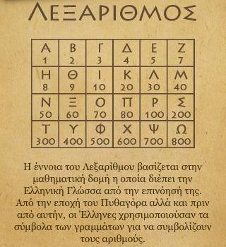 ΛΕΞΑΡΙΘΜΟΙ