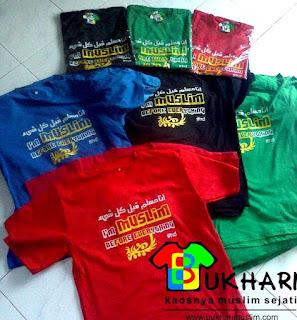 Produksi Kaos Bukhari