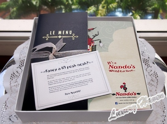 nandos butterfly chicken breast meal delivery