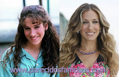 Sarah Jessica Parker antes y después