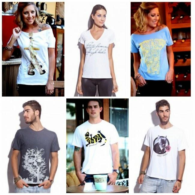T-shirts Popi Alexandre
