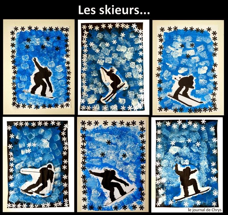 Les skieurs chez Chrys