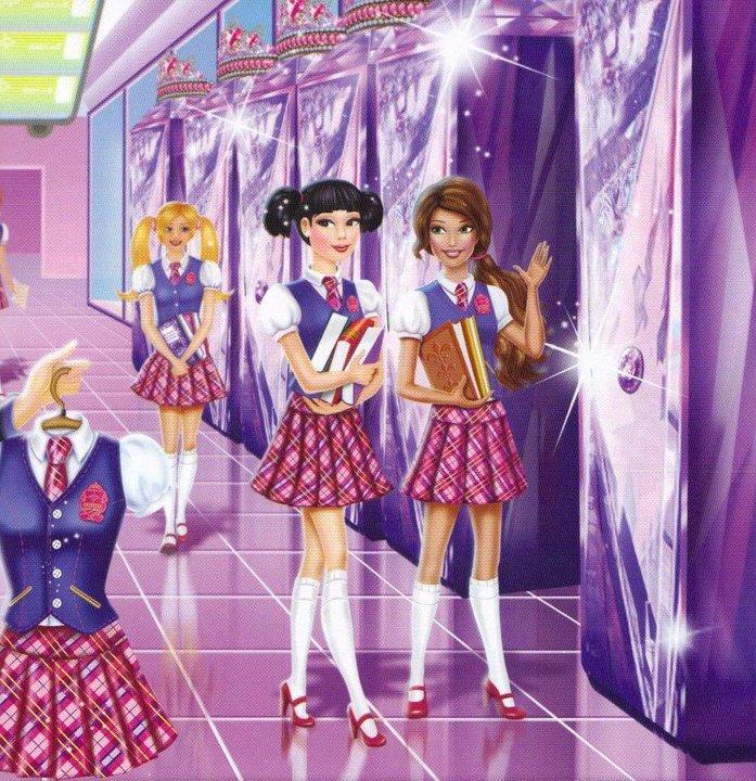 Nuevas Imagenes De Barbie Escuela De Princesas