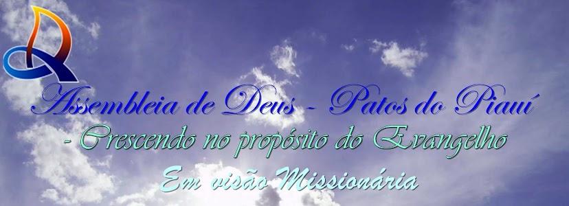 Assembleia de Deus - Patos do Piauí