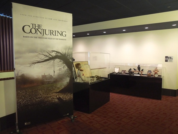 The Conjuring movie prop exhibit