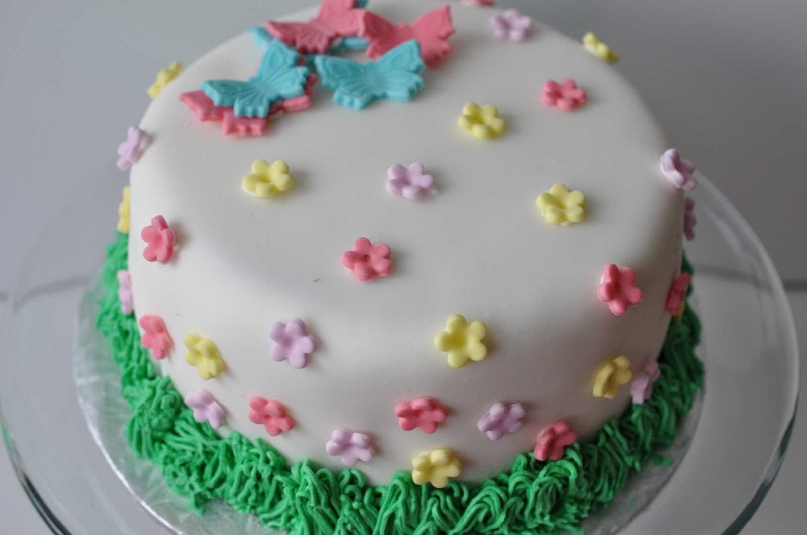 Easy Spring Cake Decorating Ideas Decoration Image Idea