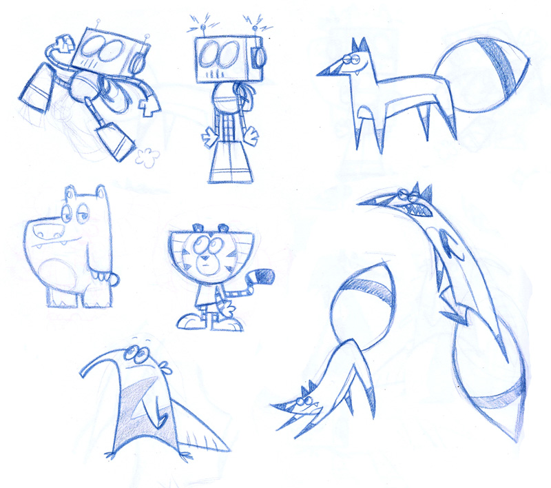 Cartoon Network Character Designer Salary : Moth eatn productions first four weeks character design