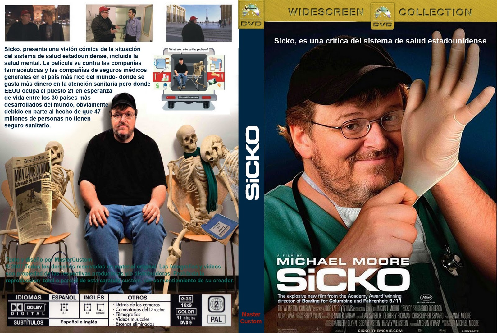 sicko review essay Sicko by michael moore: a critical analysis  the film sicko deals with the ailing  health care system in america, which is widely believed to be the most inefficient  among  a collection of high-quality academic essays about.