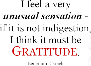 Funny Thank You Quotes Benjamin Disraeli