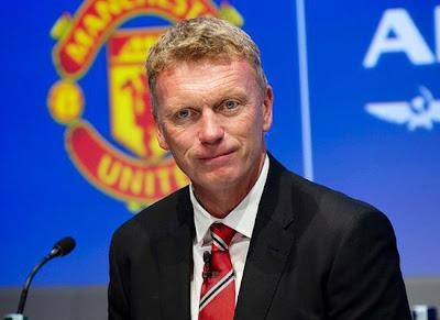 David Moyes Manager Manchester United 20132014