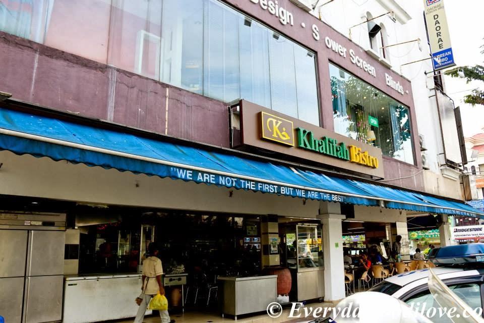 Khalifah bistro kota damansara everyday food i love for Food bar kota damansara