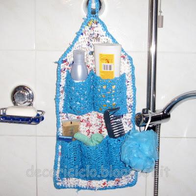 Decoriciclo riciclare i sacchetti di plastica - Oggetti da bagno ...