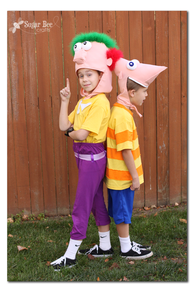 phineas and ferb diy family costumes - Phineas Halloween Costume