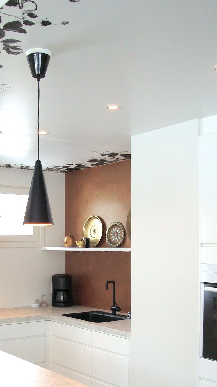 Miaw inredning & design: koppar i köket