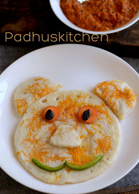 Carrot Uttapam Recipe Uthappam Fun Food For Kids