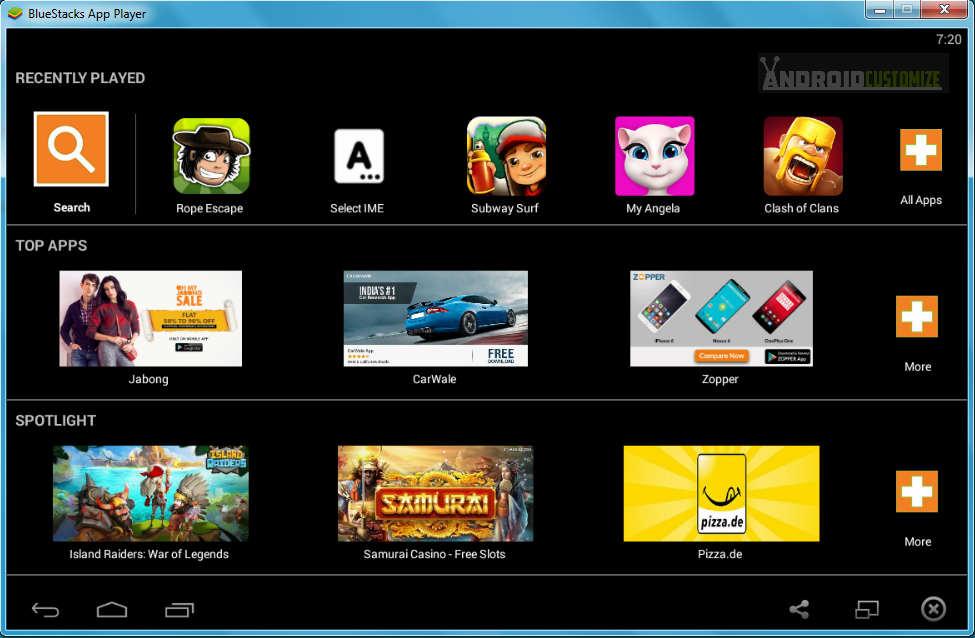 bluestack offline installer for windows 10