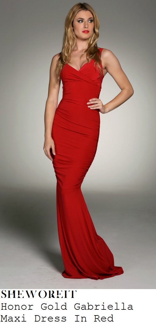 casey-batchelor-red-sleeveless-plunge-gathered-fishtail-maxi-dress-care-combat-ball