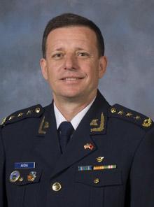 Vladimir Avdiaj, the new Commander of Albanian Air Force