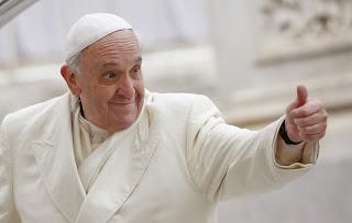 Pope gesture 2