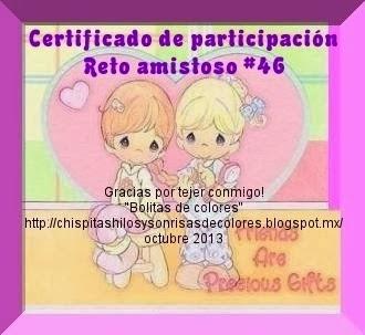 Certificado del Reto 46