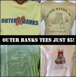 Outer Banks Beach Tees Just $5 at HappyFix.com
