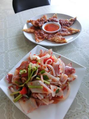 Local seafood delicacies of Penghu Taiwan