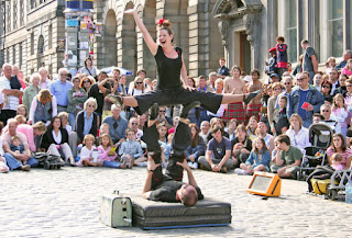 scotland scottish tourism edinburgh fringe festival