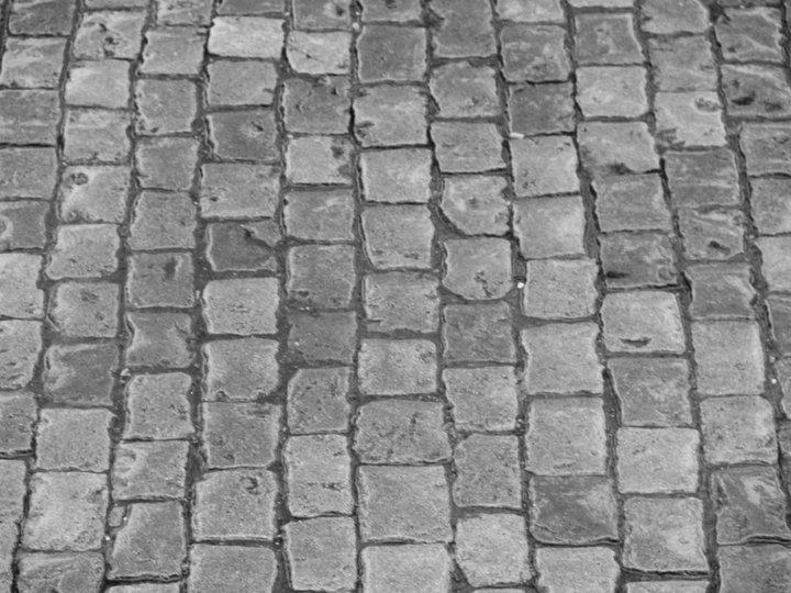Metejon de barrio - Adoquin de piedra ...