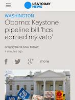 Obama Vetoed Keystone XL Pipeline