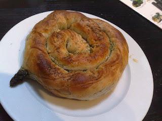 phyllo pastry, un borek à la feta parfumé à la coriandre