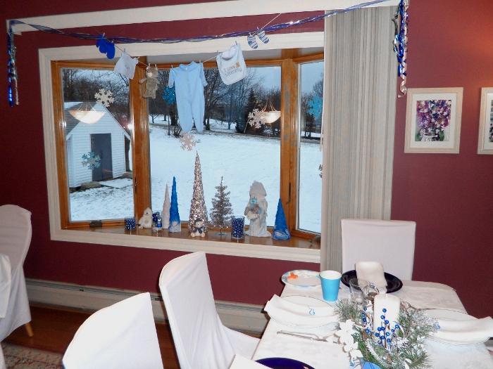 happy medley winter wonderland baby shower