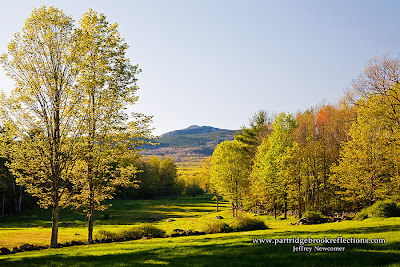 pasture to Mount Monadnock, Jaffrey, New Hampshire