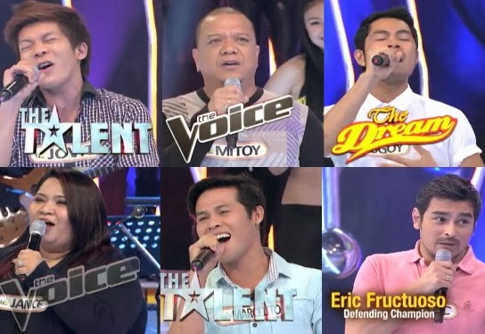 Eric Fructuoso Defends Title from Singing Champs Jovit, Marcelito, Bugoy, Mitoy and Janice in 'The Singing Bee' (Nov 30)