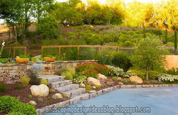 Backyard Landscaping Ideas For Hills