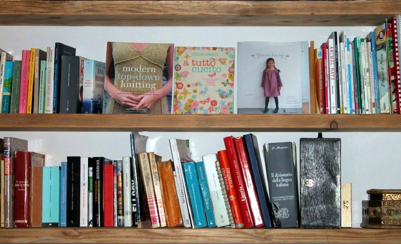 Lavoralalana libreria o ponteggio