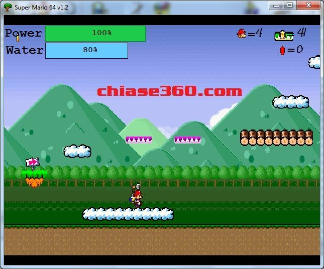 choi game mario co dien an nam cho may tinh pc
