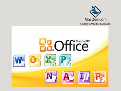ซึ่งมี Outlook อยู่ด้วย